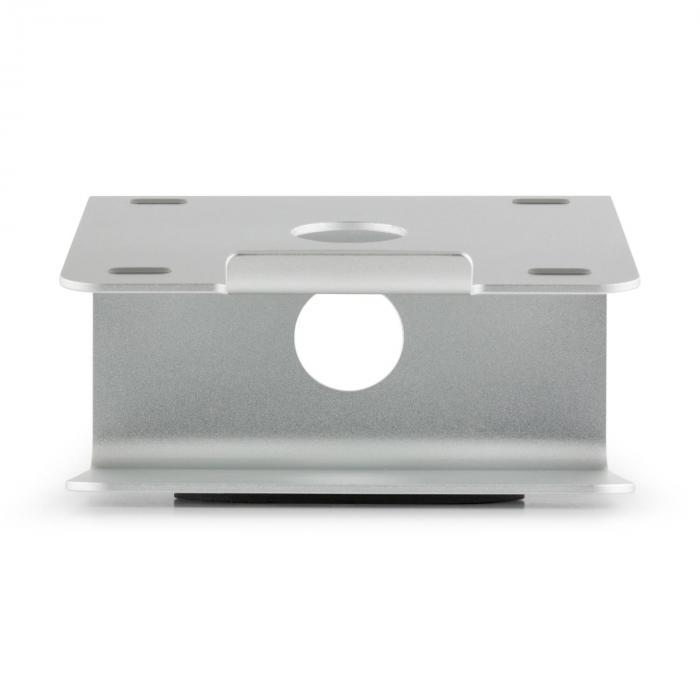 A-ST-2 Laptop-Halterung Notebook-Ständer 18° drehbar 360° Aluminium silber