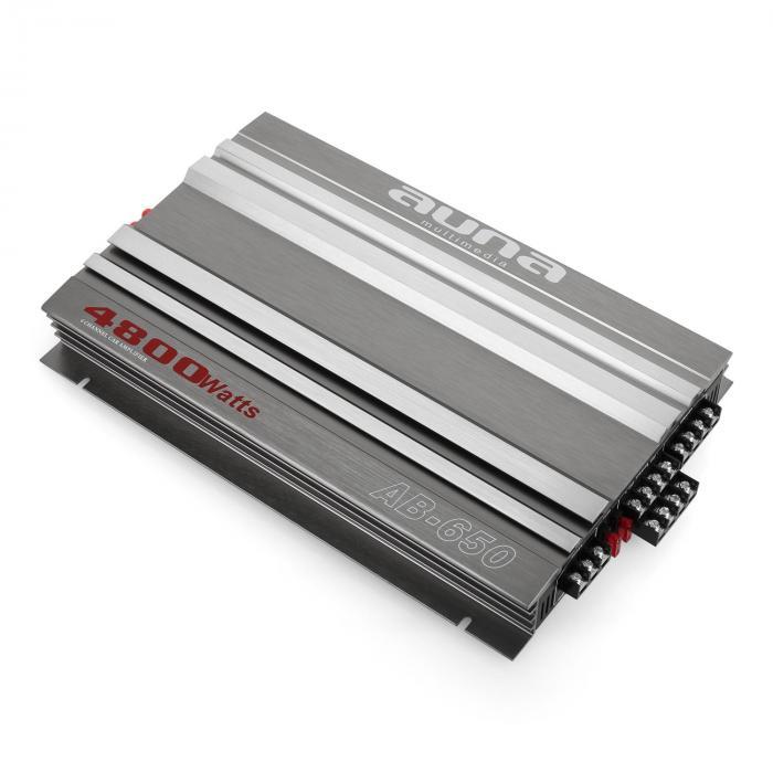 AB-650 Auto-Endstufe 6-Kanal Auto-Verstärker 540W RMS brückbar 4800W max.