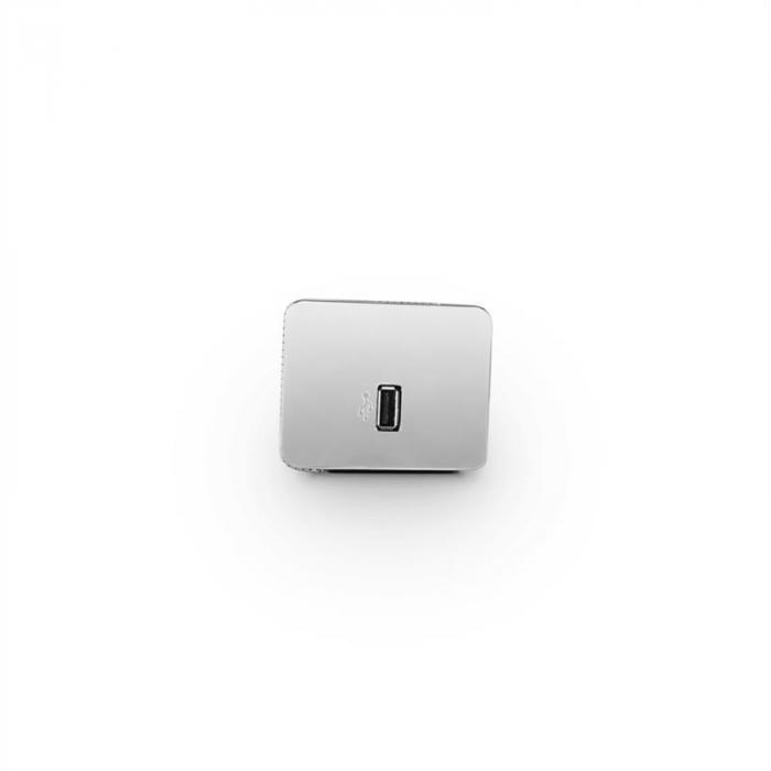 Areal Bar 350 2.0-Soundbar 80W Touch Bluetooth USB UKW Chrom Titan