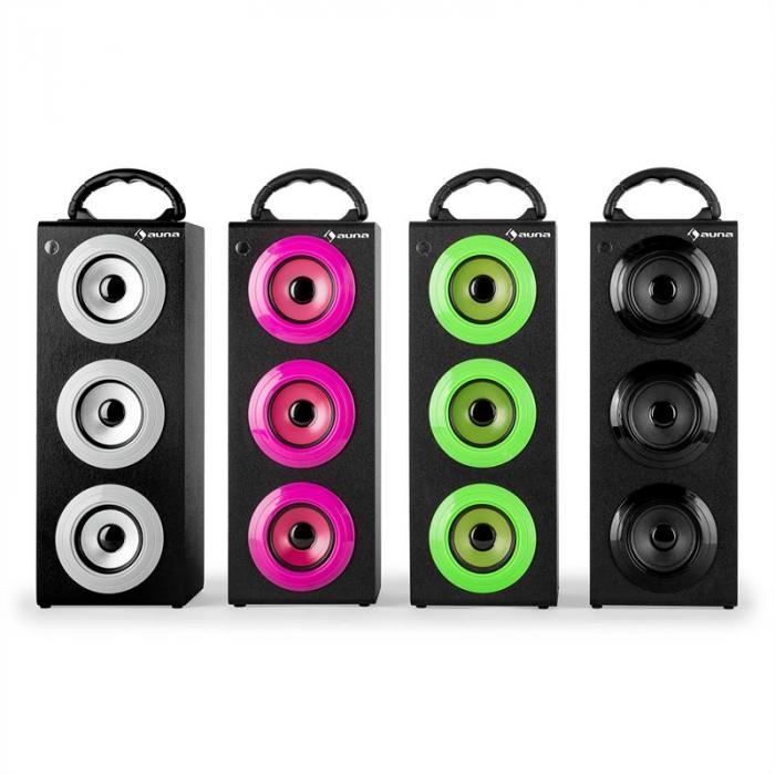 Beachboy XXL Bluetooth-Lautsprecher grün USB SD AUX UKW