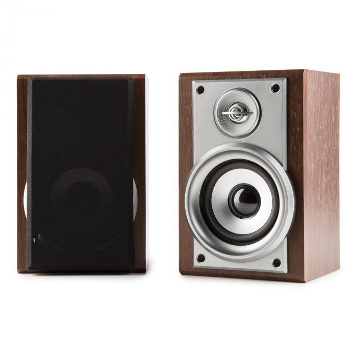 Deerwood Stereoanlage Plattenspieler USB MP3 Encoding CD Kassette UKW AUX
